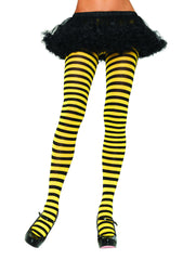 Yellow-and-Black-Striped-Tights-7100-Leg-Avenue