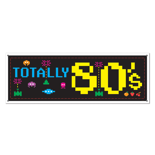 Totally 80's Banner