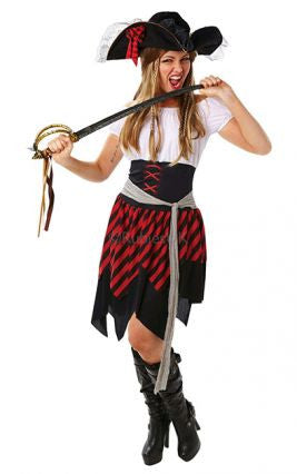 Pirate Lady Classic Costume-Adult