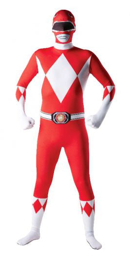 Red Power Ranger 2nd Skin Suit- Adult
