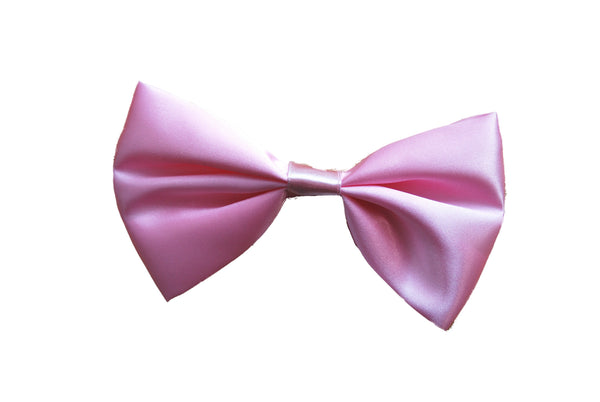Satin Bow Tie - Pink