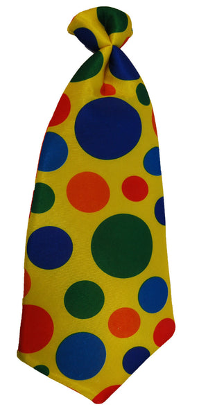 Jumbo Clown Tie - Multi Coloured