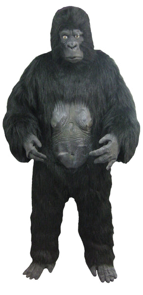 Gorilla Costume Set- Mask/Body/Feet/Hand