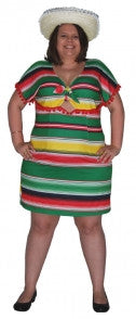 Mexican Dress- Adult Plus Size