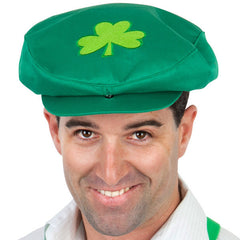 Cap-Large-Green-with-Shamrock-NAF697A-Tomfoolery-CostumesNQ