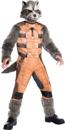 Guardian of the Galaxy- Child's Deluxe Rocket Racoon Costume