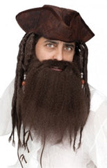 Crimped-Pirates-Beard-BM900045BR-CostumesNQ-Sweidas
