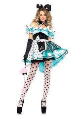Delightful Alice 3PC Costume-85510ML-CostumesNQ-DrToms