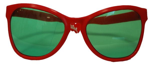Giant Red Sunglasses w/Lens