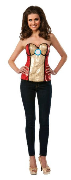 Iron Man Sequined Corset