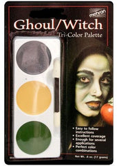 Mehron Tri-Color Palette - Witch/Ghoul
