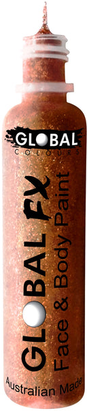 Global FX Glitter 36ml-Copper