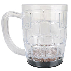 These light up LED plastic beer mugs would make a fabulous addition to your Oktoberfest party. Mug includes On/Off Switch and changeable batteries included. Large Capacity - 500ml Costumes NQ