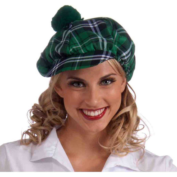 Plaid Irish Cap