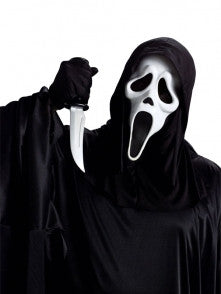 Scream Ghost Face Mask & Knife Set
