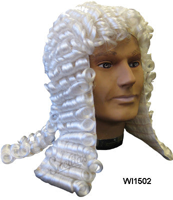Judges Wig - White