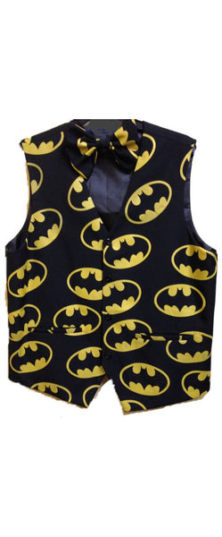 Batman Novelty Vest and Bow Tie