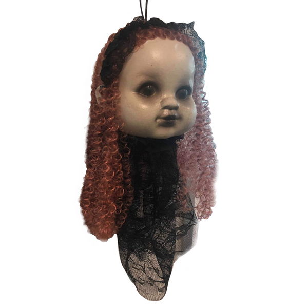 Hanging Doll Head