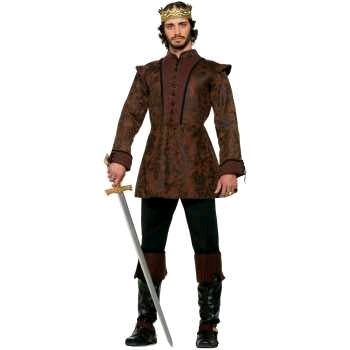 Medieval Kings Coat Costume-Adult