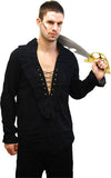 Pirate Shirt Black CO5720BK