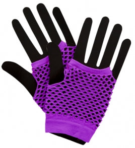 1980's Fishnet Gloves