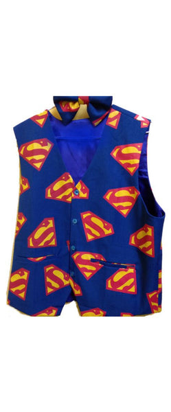 Superman Novelty Vest and Bow Tie