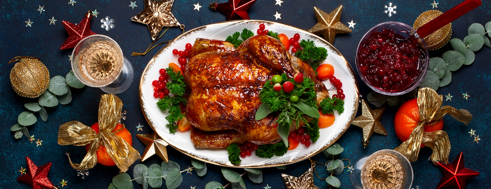 Christmas dinner food and wine pairing
