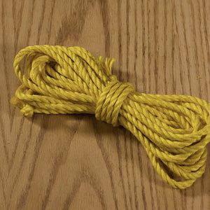 Jute rope Shibari quality by Tension - Yellow