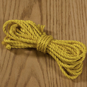 Jute rope Shibari quality by Tension - Black