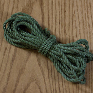 Jute rope Shibari quality by Tension - Red