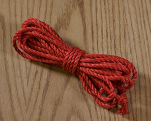 Jute rope Shibari quality by Tension - White
