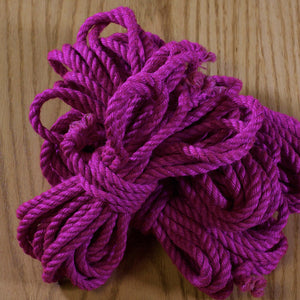 Ogawa Jute Rope, Treated (1 Rope) - Pink