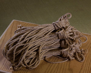 Ogawa Jute Rope, Treated (12 Ropes) - Beige (Natural)