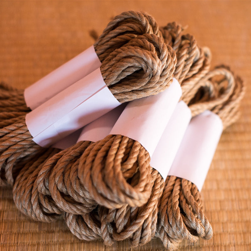 Ogawa Jute Rope, Treated (8 Ropes) - Beige (Natural)