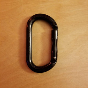 D-shaped carabiner set of 6