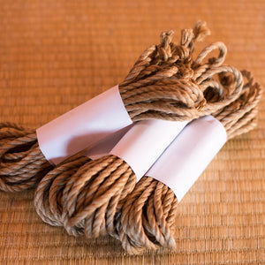Ogawa Jute Rope, Treated (4 Ropes) - Beige (Natural)