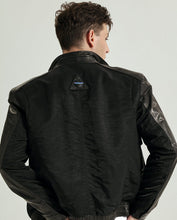 Load image into Gallery viewer, Casual Minimal Goatskin Stand Collar Leather Jacket