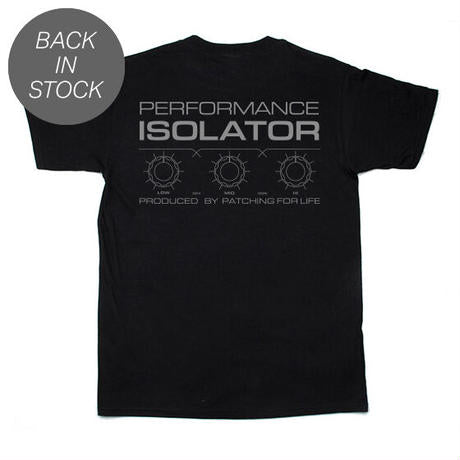 P4L ISO-001 T-SHIRTS (BLACK)