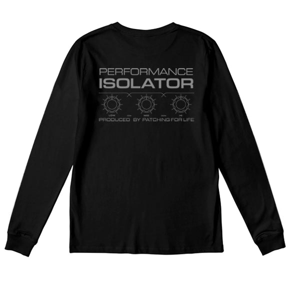 P4L ISO-001 T-SHIRTS LONG SLEEVE(BLACK)