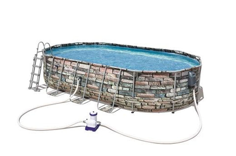Bestway 20ft Oval Portable Swimming Pool