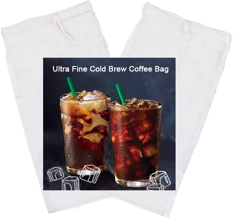 Premium Cold Brew Bags (Reusable) 2 Pack