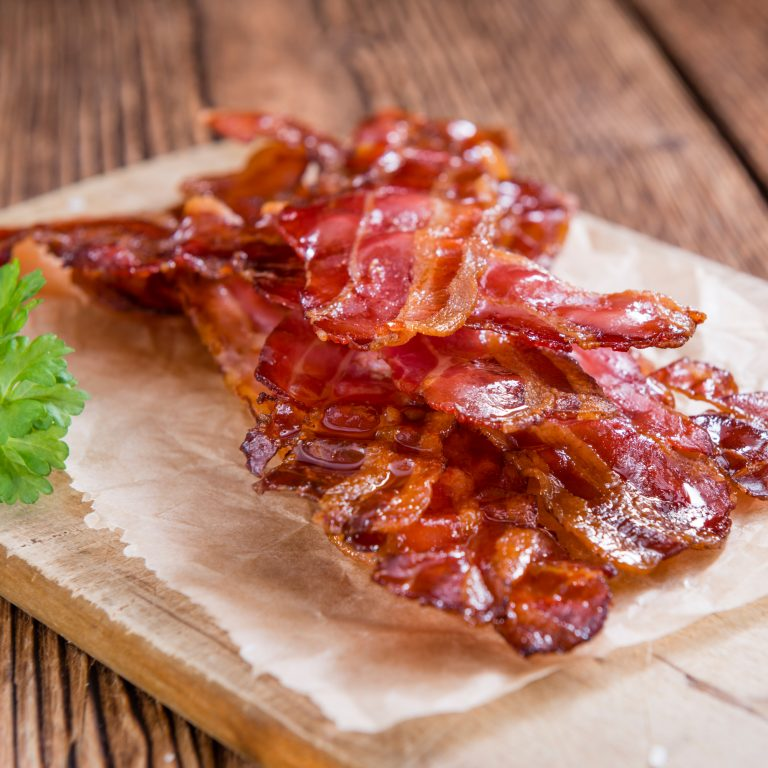 Sriracha & maple crispy lamb bacon 100g