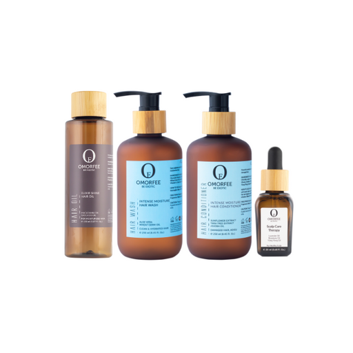 omorfee-hydrating-hair-care-assortment-eco-friendly-packaging-biodegradable-packaging