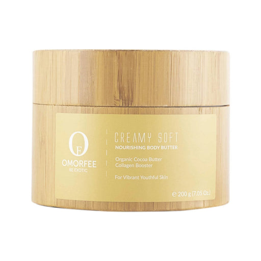 omorfee creamy soft nourishing body butter 200g front cocoa butter body lotion body cream moisturizer for soft skin