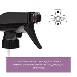 ULG Black Trigger Sprayer Replacement 12 Pack