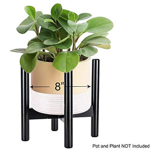 ULG Potted Stand Indoor Display Rack Rustic Decor