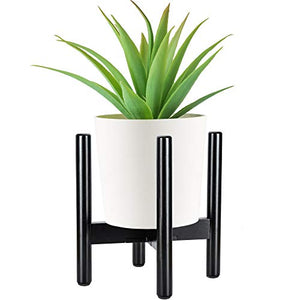 ULG472-8 Black Plant Stand P1-us