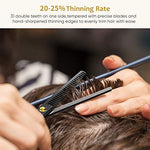 Load image into Gallery viewer, Hair Thinning Scissors 6.2 inch