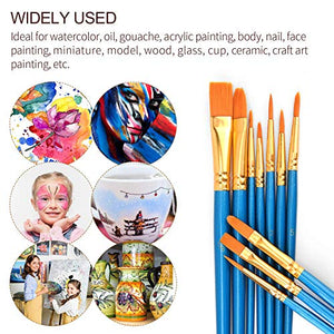 ULG Acrylic Paint Brushes Set