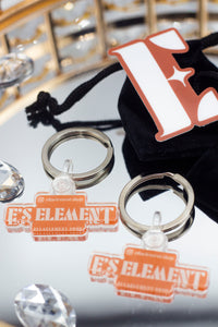 E's Element Key Chains (For Sale)